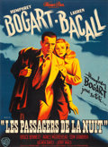 "Movie Posters:Film Noir, Dark Passage (Warner Brothers, 1947). French Grande (44"" X 60.25"")Pierre Pigeot Artwork.. ..."