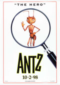 Memorabilia:Poster, Antz Movie Theater Vinyl Banners Group of 2 (Dreamworks,1998).... (Total: 2 Items)