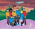Animation Art:Limited Edition Cel, Star Trek 30th Anniversary Hand-Painted Limited Edition Cel#53/300, signed by William Shatner (Filmation/ Paramount, ...