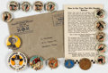 Premiums:Radio, Western Star Pinback Radio Premiums Group of 18 (Various Publishers, 1930s-40s).... (Total: 18 Items)