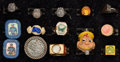 Premiums:Radio, Radio Premium Rings Group of 14 (Various Manufacturers, 1930s-40s).... (Total: 14 Items)