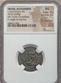 Ancients:Roman Provincial , Ancients: TROAS. Alexandria (3rd century AD). AE 20 mm (4.08 gm).NGC MS 4/5 - 3/5, lt. smoothing....