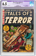 Golden Age (1938-1955):Horror, Tales of Terror Annual #3 (EC, 1953) CGC Apparent FN+ 6.5 Cream tooff-white pages....