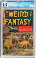 Golden Age (1938-1955):Science Fiction, Weird Fantasy #17 (EC, 1953) CGC FN 6.0 Cream to off-white pages....