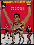 """Boxing Collectibles:Autographs, 1967 Muhammad Ali Signed """"Sports Illustrated"""" Magazine. ..."""