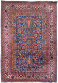 Rugs & Textiles:Carpets, A Kerman Rug, Southeast Persia, circa 1930. 8 feet 6 in. long x 5feet 11-1/4 in. wide. PROPERTY FROM A PASADENA, CA ESTAT...