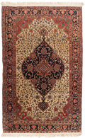 Rugs & Textiles:Hook Rugs, A Sarouk Fereghan Rug, West Persia, circa 1910. 7 feet 4-1/2 in.long x 4 feet 3-1/2 in. wide. PROPERTY FROM A PASADENA, C...