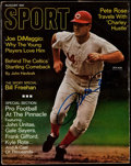 """Baseball Collectibles:Publications, 1968 Pete Rose Signed """"Sport"""" Magazine. ..."""