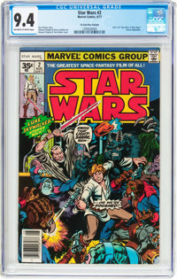 Star Wars #2 35¢ Price Variant (Marvel, 1977) CGC NM 9.4 Off-white to white pages
