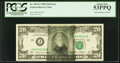 Error Notes:Ink Smears, Solvent Smear Error Fr. 2075-J $20 1985 Federal Reserve Note. PCGSAbout New 53PPQ.. ...