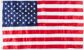 Football Collectibles:Others, American Flag Flown Over the Capitol in 2017 - 50th Anniversary of the First Super Bowl. ...
