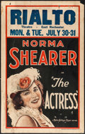 """Movie Posters:Comedy, The Actress (MGM, 1928). Window Card (14"""" X 22""""). Comedy.. ..."""