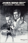 "Movie Posters:James Bond, James Bond 007 Film Festival: Licensed to Kill (MGM/United Artists,1982). Poster (15"" X 18""). James Bond.. ..."