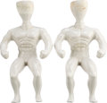 Movie/TV Memorabilia:Toys, A Pair of 'Stretch Armstrong' Molds, Circa 1970s....