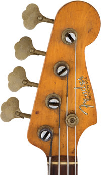 James Jamerson Owned and Played 1961 Fender Precision Bass, Serial