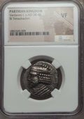 Ancients:Oriental, Ancients: Vardanes I (ca. AD 38-46). BI tetradrachm. NGC VF....