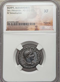 Ancients:Roman Provincial , Ancients: EGYPT. Alexandria. Severus Alexander (AD 222-235). BItetradrachm. NGC XF....