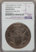 German States:Nurnberg, German States: Nurnberg. Free City Taler 1632 AU Details (Surface Hairlines) NGC,...