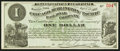 Obsoletes By State:Iowa, Newton, IA- Chicago, Burlington and Pacific Rail Road Company $1 Apr. 1, 1882. ...
