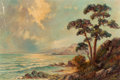 Fine Art - Painting, American:Modern  (1900 1949)  , John Binder (American, 19/20th Century). California Coast.Oil on canvas. 24 x 36 inches (61.0 x 91.4 cm). Signed lower ...