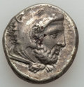 Ancients:Judaea, Ancients: MACEDONIAN KINGDOM. Amyntas III (393-370/69 BC). ARfourrée stater (10.07 gm). Choice VF, surface breaks....