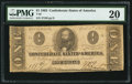 Confederate Notes:1863 Issues, T62 $1 1863 PF-1 Cr. 474.. ...