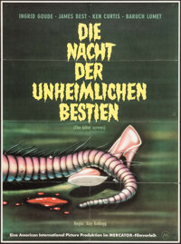 "The Killer Shrews (Mercator Filmverleih, 1962). First Release German A1 (23.25"" X 33""). Science Fiction"
