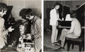 Music Memorabilia:Photos, Beatles - Two Vintage Sgt Peppers Photographs By Leslie Bryce (1967).. ...