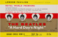 Music Memorabilia:Tickets, Beatles A Hard Day's Night London Pavilion Royal WorldPremiere Ticket (1964).. ...