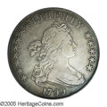 Early Dollars: , 1799 $1 8x5 Stars VF25 PCGS. B-23, BB-159, R.4. Steel gray colorwith a somewhat subdued appe...