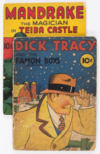 Feature Books #9 and 23 Group (David McKay Publications, 1938-40).... (Total: 2 Comic Books)