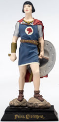 Memorabilia:Comic-Related, Prinz Eisenherz (Prince Valiant) Limited Edition Statue (Carlsen, 1995)....