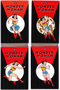 DC Archive Editions Wonder Woman Vol. 1-6 Group (DC, 1998-2009) Condition: Average NM-.... (Total: 6 Items)