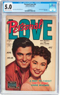 Golden Age (1938-1955):Romance, Personal Love #28 Frank Frazetta Copy (Famous Funnies Publications,1954) CGC VG/FN 5.0 Cream to off-white pages....