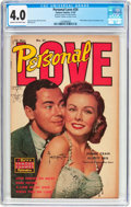 Golden Age (1938-1955):Romance, Personal Love #24 Frank Frazetta Copy (Famous Funnies Publications, 1953) CGC VG 4.0 Cream to off-white pages....