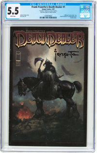 Frank Frazetta's Death Dealer #1 Frank Frazetta Copy (Image, 2007) CGC FN- 5.5 White pages