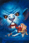Fine Art - Painting, American:Contemporary   (1950 to present)  , Kelly Freas (American, 1922-2005). Rat Craze. Mixed media on board. 15-1/2 x 10-1/2 inches (39.4 x 26.7 cm) (sight). Sig...