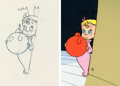 Animation Art:Production Drawing, Doctor Seuss' How the Grinch Stole Christmas Cindy Lou WhoAnimation Drawing and Limited Edition Cel #1/1 (MGM/Chuck J...