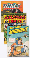 Golden Age (1938-1955):Miscellaneous, Comic Books - Assorted Golden Age Comics Group of 34 (Various Publishers, 1940s-50s) Condition: Incomplete.... (Total: 34 Comic Books)