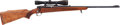 Long Guns:Bolt Action, Winchester Pre-64 Model 70 Bolt Action Rifle with TelescopicSight....