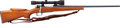 Long Guns:Bolt Action, Czech Model VZ24 Bolt Action Rifle with Telescopic Sight....