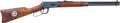 Long Guns:Lever Action, Winchester Model 1894 Texas Rangers Commemorative Saddle RingCarbine....
