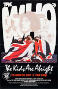 "Movie Posters:Rock and Roll, The Kids Are Alright (New World, 1979). Australian One Sheet (25"" X38.5""). Rock and Roll.. ..."