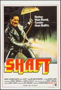 "Movie Posters:Blaxploitation, Shaft (MGM, 1971). Australian One Sheet (27"" X 40""). Blaxploitation.. ..."