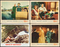 """Movie Posters:Hitchcock, North by Northwest & Other Lot (MGM, R-1966). Lobby Cards (4) (11"""" X 14""""). Hitchcock.. ... (Total: 4 Items)"""