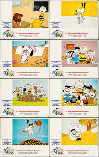 """A Boy Named Charlie Brown (National General, 1970). Lobby Card Set of 8(11"""" X 14""""). Animation. ... (Total: 8 I..."""
