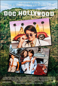 """Doc Hollywood (Warner Brothers, 1991). One Sheets (12) Identical (27"""" X 40.25"""") DS Advance. Comedy. ... (Total..."""