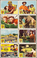 "Movie Posters:Adventure, King Solomon's Mines (MGM, 1950). Lobby Card Set of 8 (11"" X 14"").Adventure.. ... (Total: 8 Items)"
