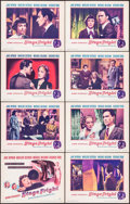 """Movie Posters:Hitchcock, Stage Fright (Warner Brothers, 1950). Lobby Card Set of 8 (11"""" X 14""""). Hitchcock.. ... (Total: 8 Items)"""
