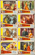 "Movie Posters:Adventure, Stronghold (Lippert, 1952). Lobby Card Set of 8 (11"" X 14"").Adventure.. ... (Total: 8 Items)"